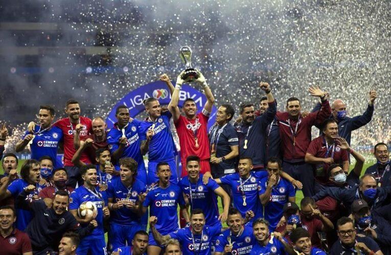 Se corona Cruz Azul campeón de la Liga MX