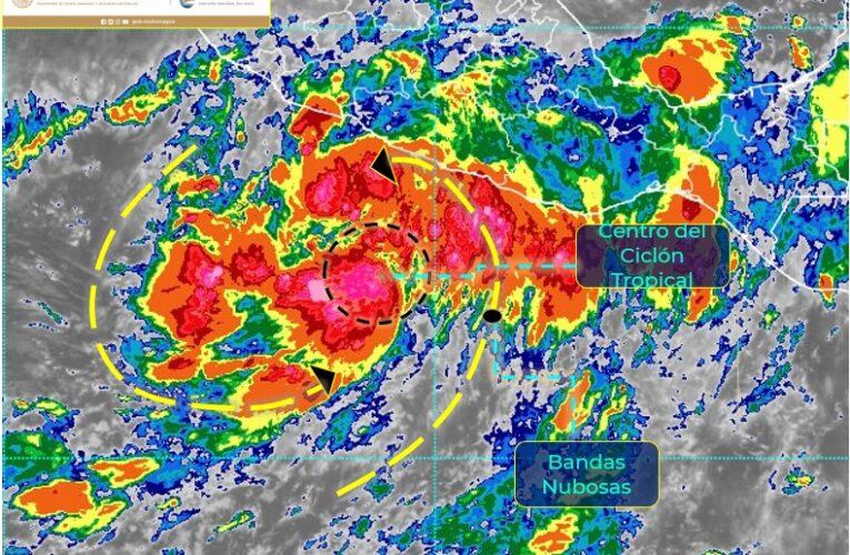 Vigila Meteorológico depresión tropical frente a Acapulco