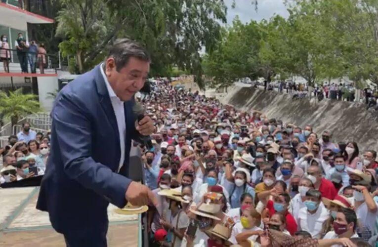 Dicta Félix Salgado directrices del gobierno de su hija