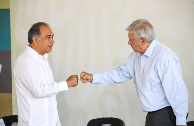 Hubo elecciones ordenadas, dice Astudillo a AMLO