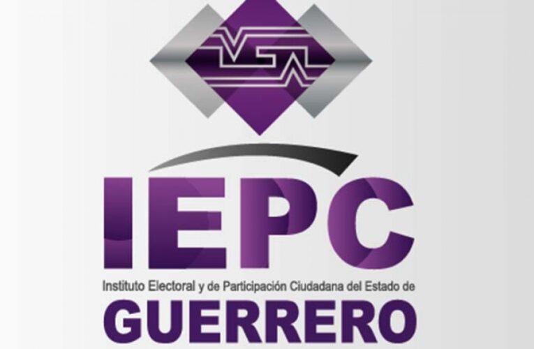 Hay certeza en resultados electorales, ataja IEPC Guerrero