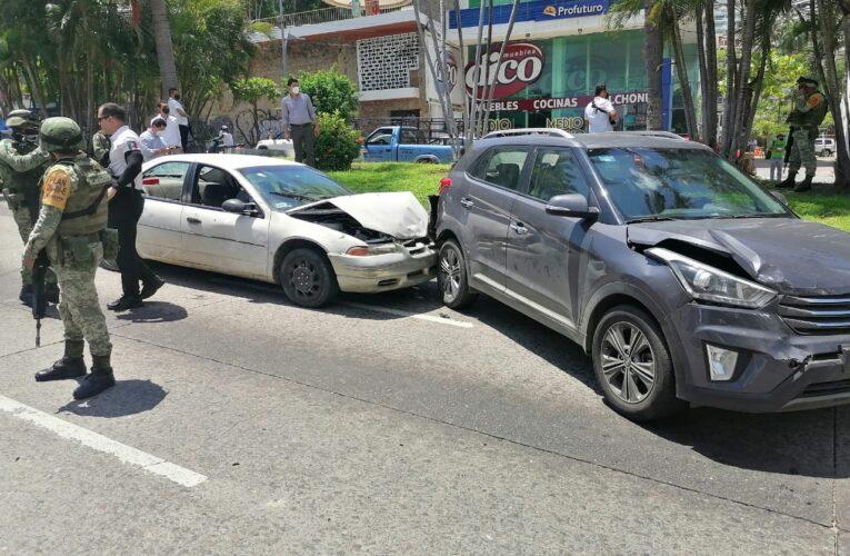 Balacera en costera de Acapulco; 2 muertos y 1 herido