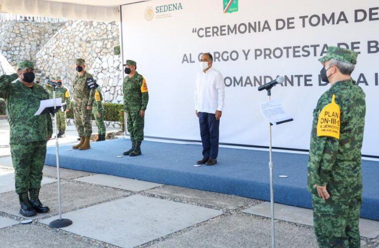 Cambian mando en la Novena Región Militar