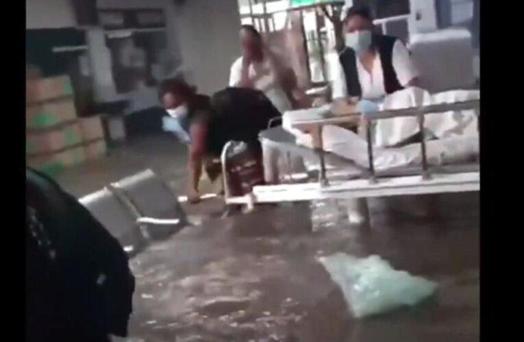 Mueren 17 pacientes del IMSS por desbordamiento en Tula