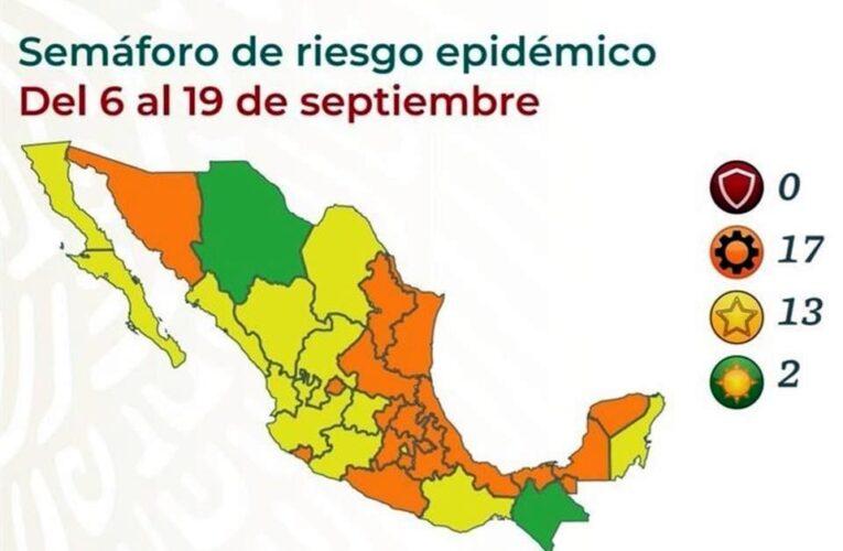 Pasará Guerrero a color naranja el lunes